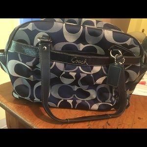 Coach Addison Diaper Bag
